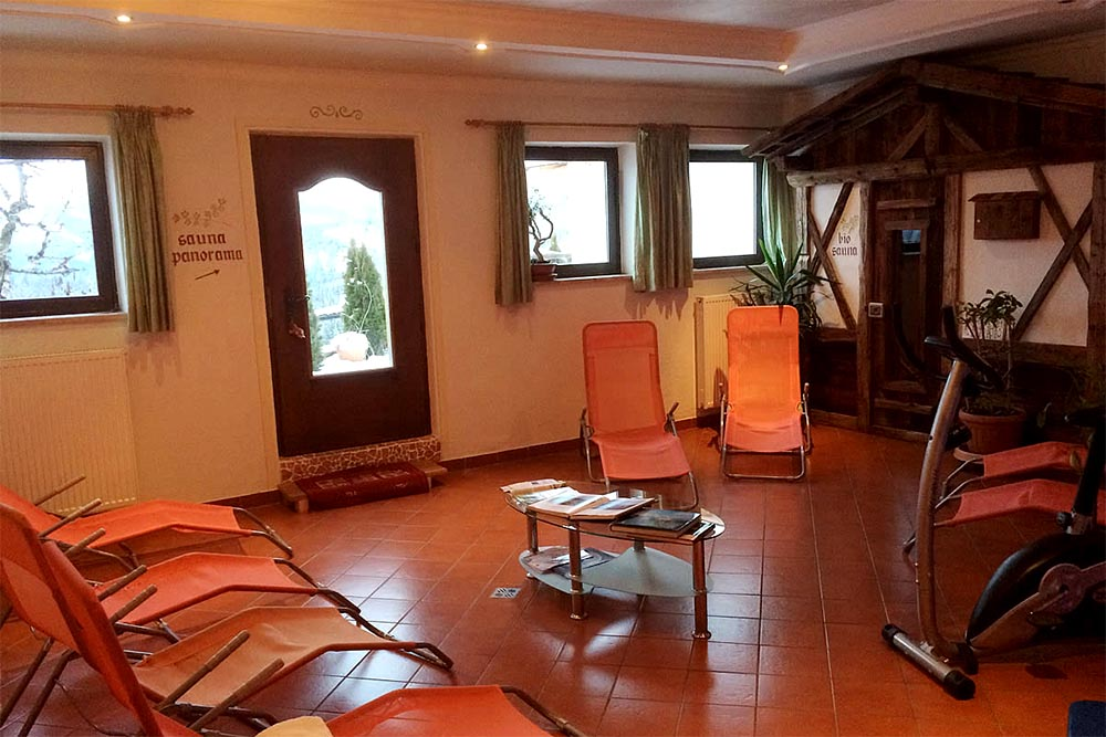 Pension Elisabeth Antermoia Fitness