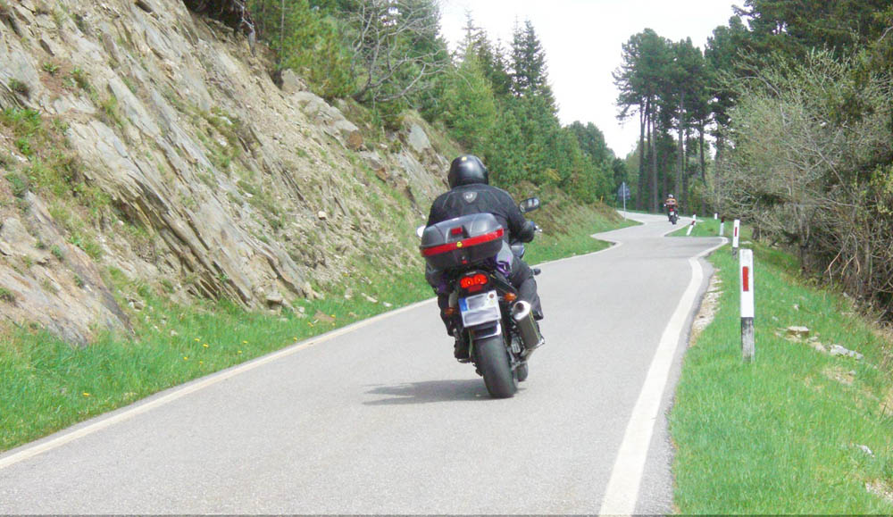Pension Maria in Antermoia - Motorradtour-Impression