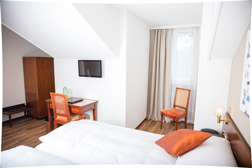 Hotel de Chailly in Chailly/Montreux - Doppelzimmer